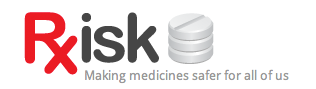 Research or report prescription drugs side effects with RxISK