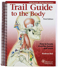 Trail Guide To The Body and other bodywork books