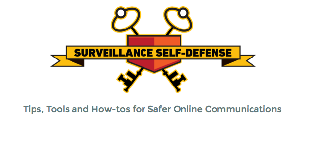 Surveillance Self-Defense (EFF)