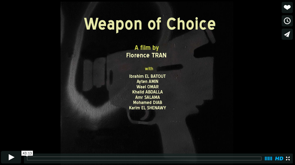 Une Arme de choix / Weapon of choice (Florence Tran)