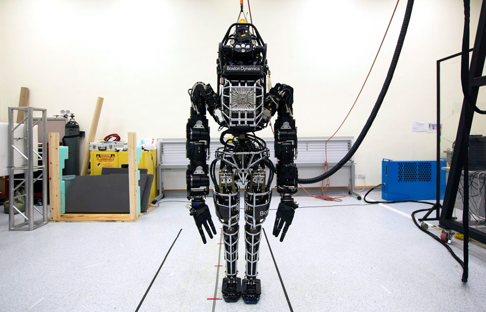 Google Robots practise Tai Chi